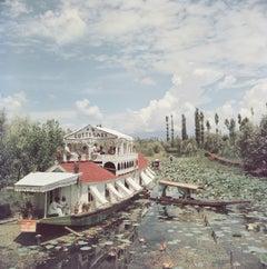 'Jhelum River' Kashmir 1961  (Slim Aarons Estate Edition)