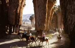 'Early Riders' 1970 (Slim Aarons Estate Stamped Edition)