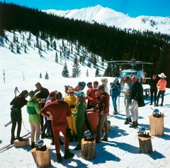 'Snowmass Picnic'  Aspen 1967  (Estate Stamped Edition)