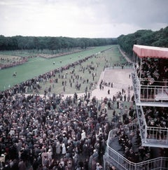 'Chantilly Racecourse' France (Slim Aarons Estate Stamped Edition)