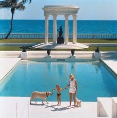 'Nice Pool' (Slim Aarons Estate Stamped Edition)