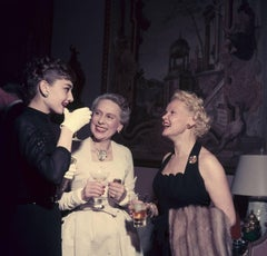 'Hepburn And Friends' 1953  (Slim Aarons Estate Edition)