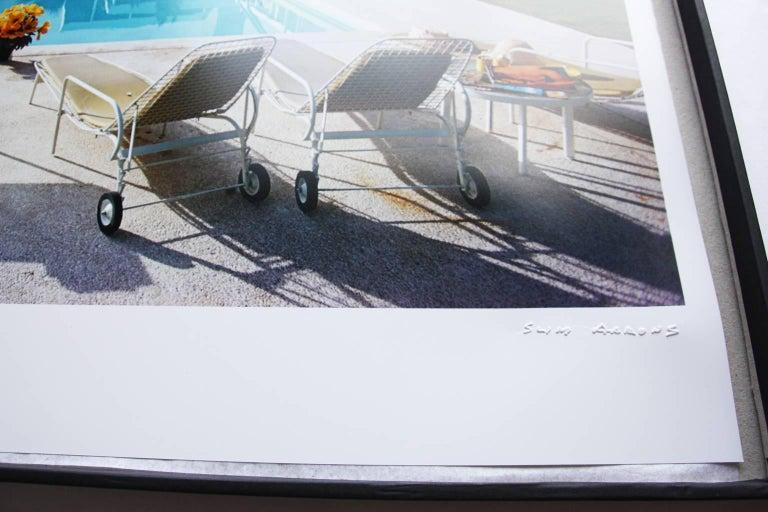 'Sunbathing On Capri' (SLIM AARONS Estate Edition) - Modern Photograph by Slim Aarons