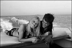 'St Tropez Summer Breeze' 1968 Alain Delon & Brigitte Bardot