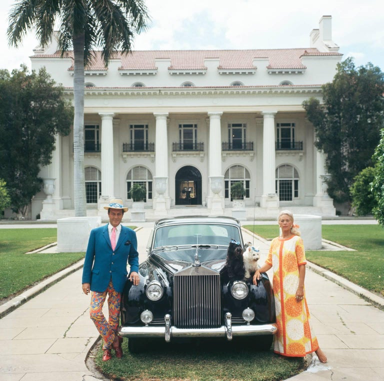 'Donald Leas' Palm Beach 1968  Slim Aarons Estate Edition - Photograph by Slim Aarons