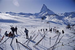 'Zermatt Skiing' Slim Aarons Estate Edition