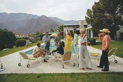 'Desert House Party' 1970  Slim Aarons Estate Edition