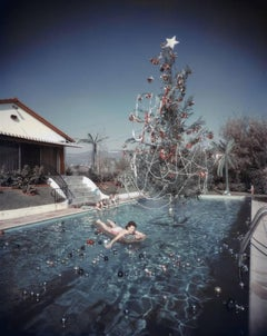 'Christmas Swim'  Oversize Slim Aarons Estate Edition