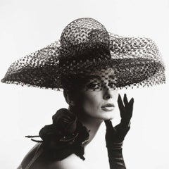 'Tania Mallet In Mme Paulette Hat'  V&A Portfolio Limited Edition print
