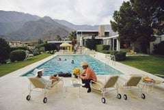 'Desert House Party'  Slim Aarons Estate Edition