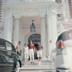 'Staying At The Carlton' Cannes - Slim Aarons Estate Edition