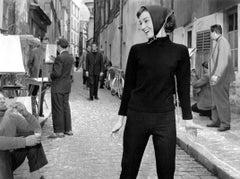 'Audrey At Paris' Oversize Silver Gelatin Print (Limited Edition)