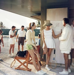 'Tennis In The Bahamas'  (SLIM AARONS Estate Edition)