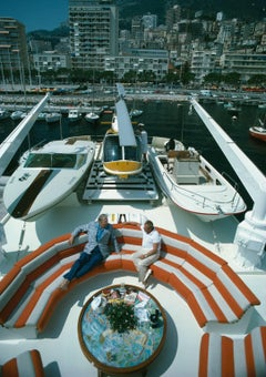 'Transport Buffs' Monte Carlo 1976  (Slim Aarons Estate Edition)