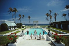 (Slim Aarons Estate Edition)  'Neo Classical Pool