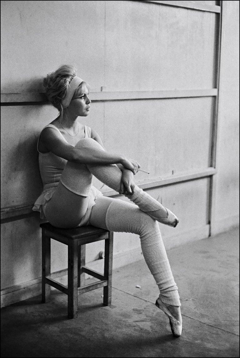 Giancarlo Botti Portrait Photograph - 'Private Dancer' Brigitte Bardot 20th century black and white photography