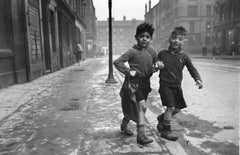 'Gorbals Boys' Oversize Silver Gelatin Print (Limited Edition)