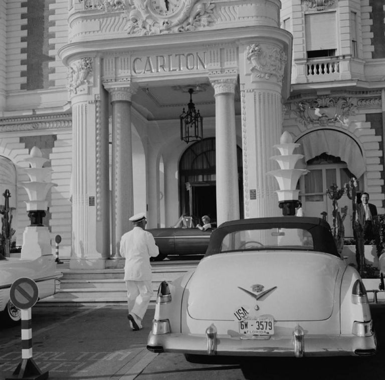 'The Carlton Hotel' 1955 (Slim Aarons Estate Edition) - Photograph by Slim Aarons