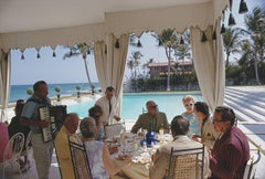 'Dining at Wilmot's'  Slim Aarons Estate Edition