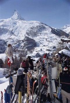 'Zermatt Skiing' (Slim Aarons Estate Edition)