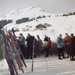'Lech Ice Bar' Slim Aarons Estate Edition