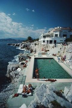 'Eden-Roc Pool' (Slim Aarons Estate Edition)