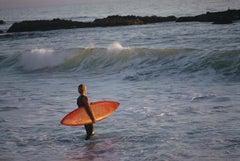 'Laguna Beach Surfer'   Slim Aarons 20th century color landscape photography