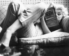 Marilyn Monroe Candid Moment - 20th century black and white photography