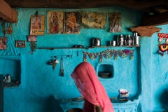 ' India Blue ' contemporary fine art colour photography - limited edition signed