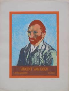 Pop Art Vincent Van Gogh Serigraph