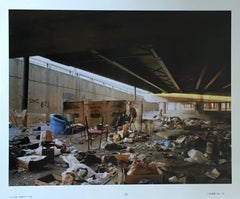 Living Under, Large Scale Chicago Color Photograph