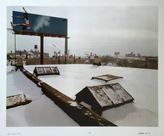 Carl Lewis, Large Scale Chicago Color Photograph