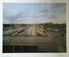 View of N. FR. Jackson Pk., Large Scale Chicago Color Photograph