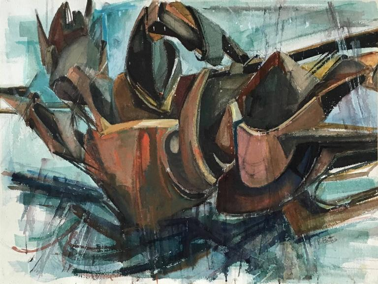 Fallen Warrior, Katherine Porter is an American artist born in Cedar Rapids, Iowa in 1941. She received her BA from Colorado College in 1963. Katherine Porter received an honorary doctorate from Colby College. She has shown twice in the Whitney