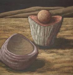 History Farm, California Modernist OIl Painting