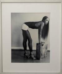 Naomi Campbell Rare Vintage Silver Gelatin Photograph