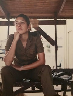 "Large Color Photograph ""Women of the IDF"" Ashkan Sahihi"