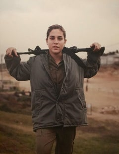WOMEN OF THE IDF Large color Photograph LITAL