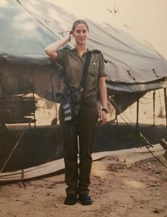 WOMEN OF THE ISRAEL DEFENSE FORCES Large Photo NETA