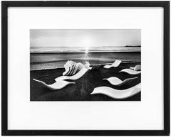 Beach Run by Club Med, Agadir, Morocco Vintage Silver Gelatin Photograph Print