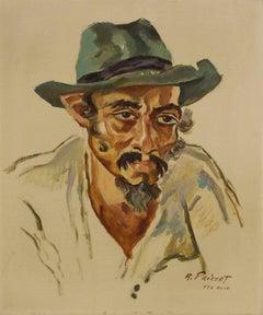 Yemenite Man, Tel Aviv, 1940's Palestine/Israel