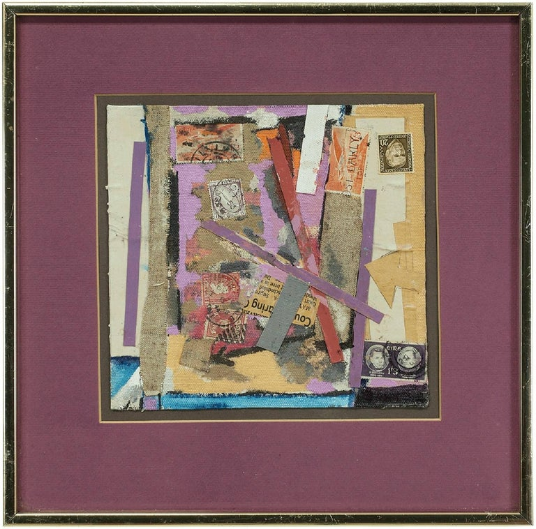 Untitled Mixed Media Collage - Mixed Media Art by William Proweller