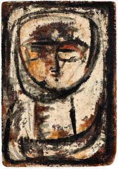Untitled, Expressionist Brutalist Portrait