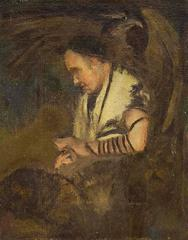 Jewish man with Tefillin