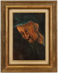 Belgian Modernist Judaica Portrait