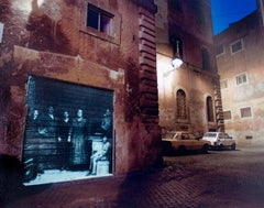 BEHIND PIAZZA MATTEI, ROME, ITALY Judaica Contemporary Photograph