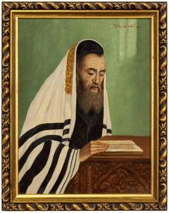 Rabbi in Prayer