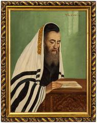 Rabbi in Prayer
