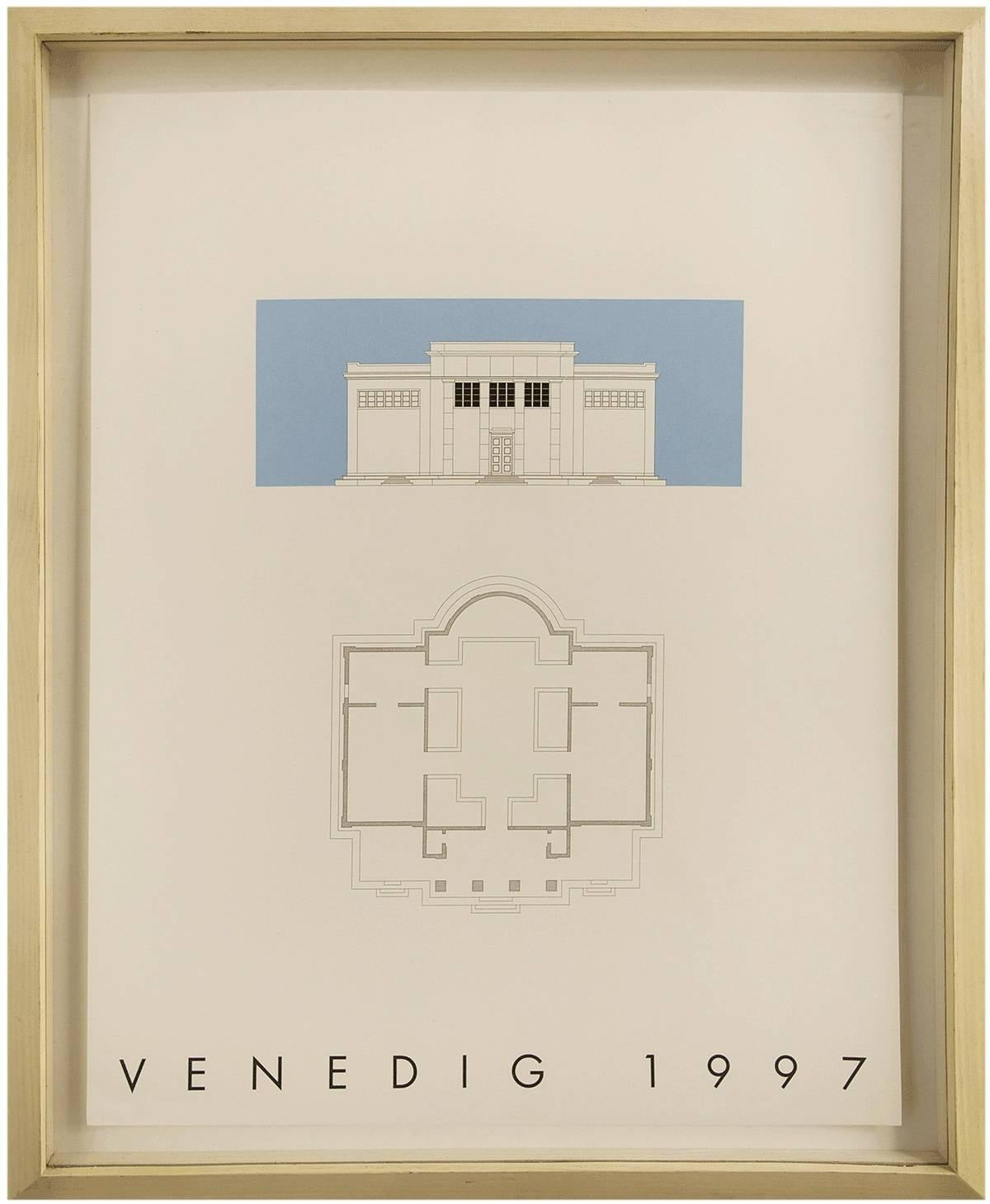 VENEDIG 1997, Silkscreen Print, 2 of 3 from the 'Sequences' Series