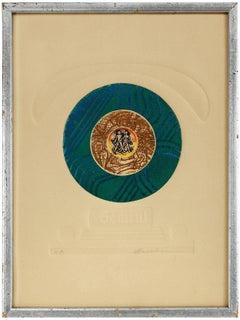 Gemini, Color Intaglio Print, AP